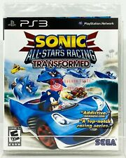 Sonic & All-Stars Racing Transformed - PS3 - Brand New | Factory Sealed