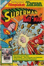 SUPERMAN / BATMAN 1984 # 26 + FILMPLAKAT: TARZAN POSTER - EHAPA - ZUSTAND Z. 2