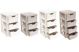 RATTAN STYLE PLASTIC STORAGE TOWERS - LARGE TOWERS - STRONG - HOME - BATHROOM