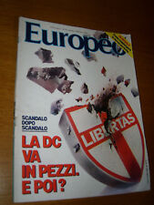 L'EUROPEO 1984/44=MARCELLO MASTROIANNI=CARLO RUBBIA=SERGIO ROMANO=TEATRO YIDDISH
