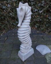 giardino statua CAVALLUCCIO MARINO 43cm ALTO maritim DECORAZIONE TERRACOTTA