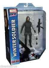 Marvel Select THE WINTER SOLDIER Captain America Civil War Action Figure 2016