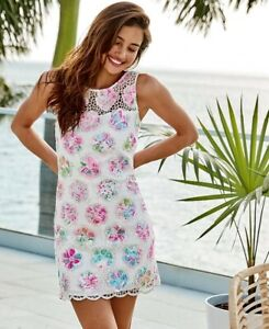 Lilly Pulitzer NWT Vivia Shift Romper Paradise Found $268