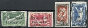 LEBANON 1924 COMM STAMPS OF FRANCE OLYMPIC GAMES.MH 130$ *