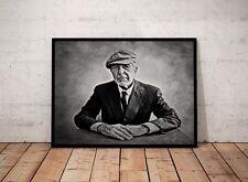 Leonard Cohen Sketch Art Portrait Print A4 Poster Rare Collectables Memorabilia