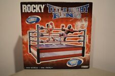 ROCKY Title Fight Ring From Jakks Pacific Rocky Collection Series Original