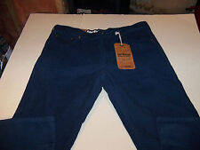 38 X 32 URBAN PIPELINE 5 POCKET RELAXED STRAIGHT CORDUROY JEANS-BLUE- NWT