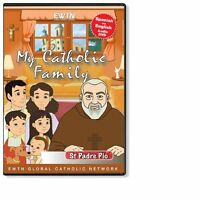 MY CATHOLIC FAMILY EWTN: Saint Padre Pio DVD