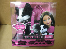 2005 Teen Trends *Cleo* plush dog and carrying case