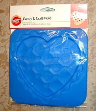 New Flexible Rubber Candy & Craft Mold~Heart~