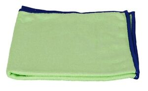 """1 Green Starfiber Microfiber Miracle Cleaning Cloth 16"""" x 16"""" Ecofriendly Towel"""