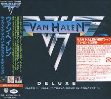 Van Halen - Live In Japan (2015) Japan Deluxe Box 4CD Set !