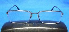 Ray-Ban 6154 2531 Partial Frame Metal Eyeglasses Frames
