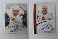 2011-12 UD Artifacts A-KD Daugavins Kaspars  autofacts  senators auto LATVIA