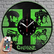 LED Clock Gorillaz Vinyl Record Wall Clock Led Light Wall Clock 152
