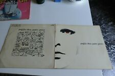"""PATTY PRAVO - PAZZA IDEA - VINILE - LP 33 GIRI -12"""" NMINT CON BOOKLET"""