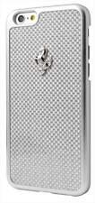 Ferrari GT Carbon Frame Silver Hard Case for iPhone 6 / 6s 4.7