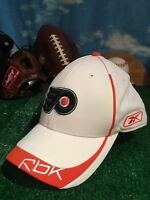 Philadelphia Flyers Reebok fitted flex fit hat large/XL L/Xl flexfit Cap h13