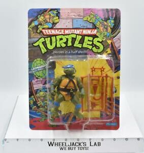 Leonardo 10 Back NEW 1988 Teenage Mutant Ninja Turtles TMNT Playmates Toys Figur