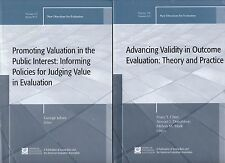 2 Books on Evaluation! Advancing Validity and Informing Policies for Judging