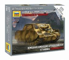 Zvezda 6244 - 1/100 German Self Propelled Artillery Gun Storm Tanks IV Brummbaer
