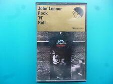 """JOHN LENNON  """" ROCK 'N' ROLL """"  CASSETTE"""