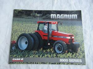 1996 Case CASEIH 8910 8920 8930 8940 8950 8900 series magnum tractor brochure
