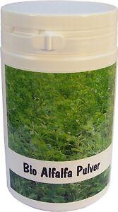 SANOS Bio Alfalfa Pulver 100g aus eigenem Anbau frisch v. Bodensee