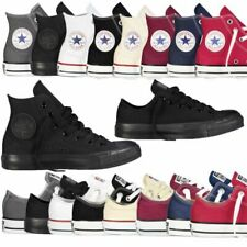 Classic Chuck Taylor Low Hi Tops Trainer Sneaker All Stars OX NEW sizes Shoes