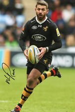Willie le Roux, Wasps, South Africa, Springboks, signed 12x8 photo. COA. Proof.