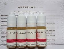 4x10ml Toenail+Fingernail+Fungus Treatment - NAIL FUNGUS ZAP