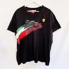 New listing Scudeira Ferrari F1 Formula One Italy Puma Official T-Shirt Mens XL