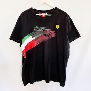 Scudeira Ferrari F1 Formula One Italy Puma Official T-Shirt Mens XL