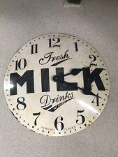 Vintage Rustic Shabby Large Wall Clock (50cms x 50 Cms)