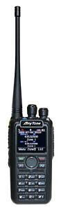 ANYTONE ATD878UVIIPLUS DUALBAND 2m/70cm VHF/UHF DIGITAL APRS GPS BLUETOOTH RADIO
