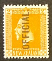 New Zealand. Optd OFFICIAL Definitives. Mounted Unused. #AF90