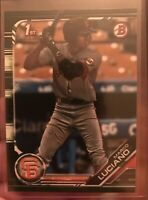 Marco Luciano 2019 Bowman Prospect Camo Green Parallel SF Giants BP82 Retail