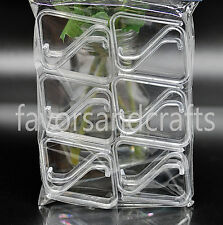 288 PCS Banquet Table Clips Cloth Skirt Clear Plastic Covers Skirting WHOLESALE