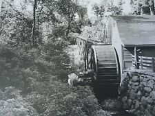"""N.E. Gristmill Original c.1940+ Vintage B&W Photograph  unsigned 11""""X14"""""""