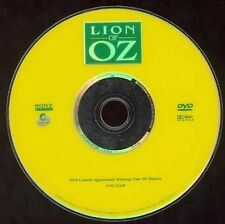 Lion Of Oz Cartoon DVD Movie Prequel To Wizard DeLuise Bobcat Golthwaiit NO CASE