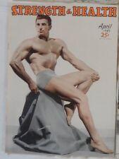 vintage bodybuilding magazine - Strength & Health - 04/1949 - TTBE
