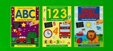 EYFS Sticker Activity 3 Book Set Pre School Early Learning Home Education NEW