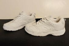 NEW Stride Rite Girls 3 3M Cooper White Lace Up Sneakers Tennis Shoes