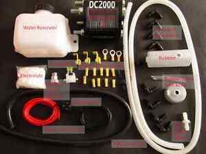 HHO Kit Universal DC2000 Kit + MAF Enhancer + CCPWM30A For engines 1.4-2.5 Litre