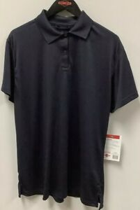 Tru-Spec 24-7 Series Performance Polo Shirt ladies SS navy blue NEW w/tags.
