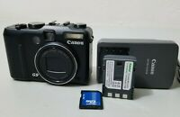 Canon PowerShot G9 12.1MP Digital Camera - Black *Fine/tested*