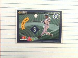"""Ken Griffey Jr. 1998 UD Collector's Choice """"Stick Um's"""" #25 Sticker Insert"""