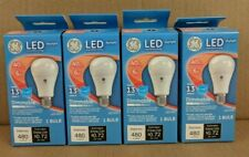 4 Pack GE LED Light Bulbs 6W 120V A19 Dimmable 5000K E26 40w Equivalent Dimmable