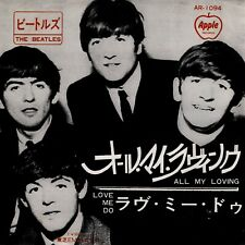 Beatles All My Loving / Love Me Do Japan Apple 45 With Picture Sleeve 500 yen