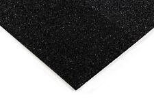 Loseta de caucho negra 1m x 1m, 40 mm - Absorbe impactos de mancuernas y discos.
